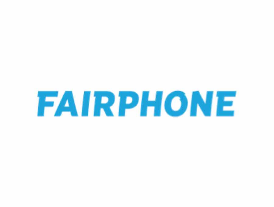 Fairphone client of the agency look sharp Paris
